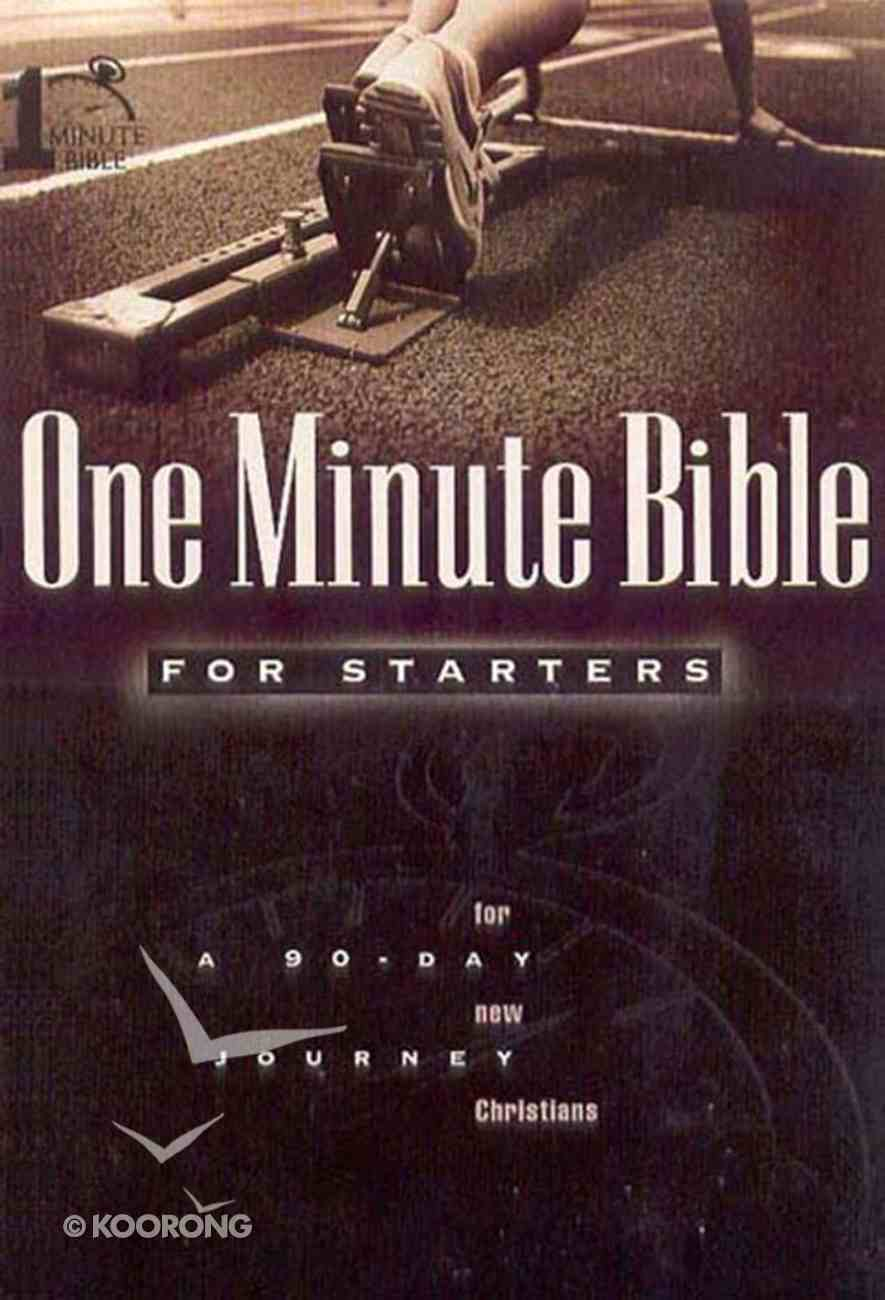 One Minute Bible For Starters (One Minute Bible Series) eBook