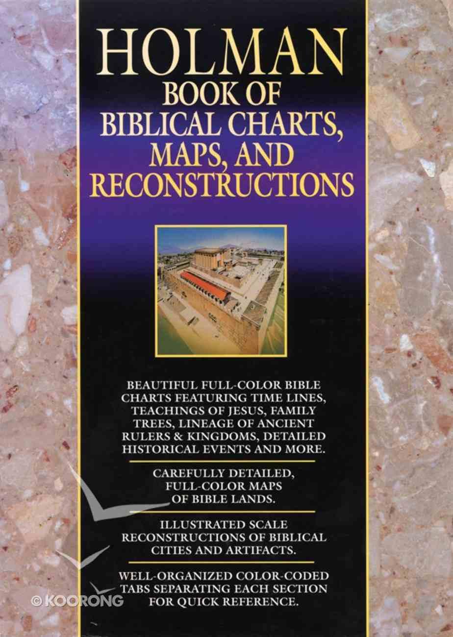 Holman Book of Biblical Charts, Maps & Reconstructions eBook