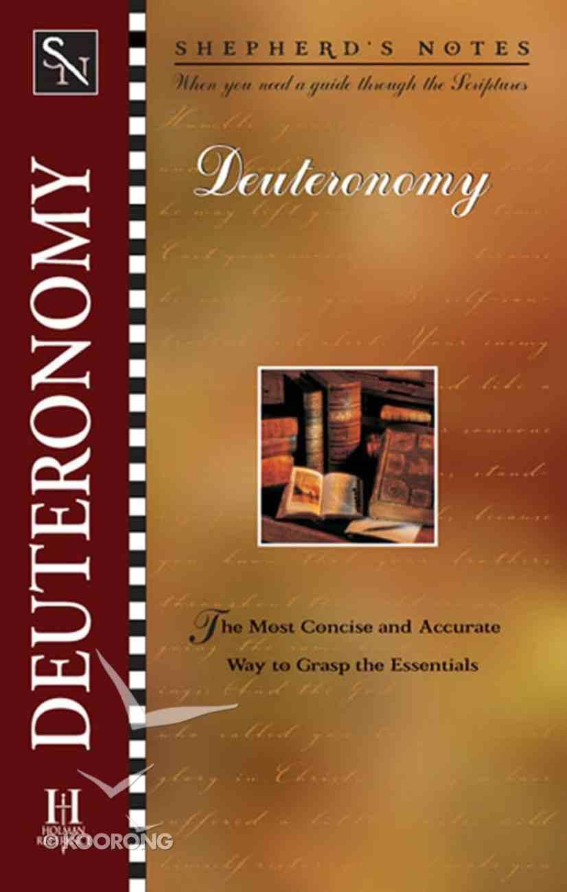 Deuteronomy (Shepherd's Notes Series) eBook