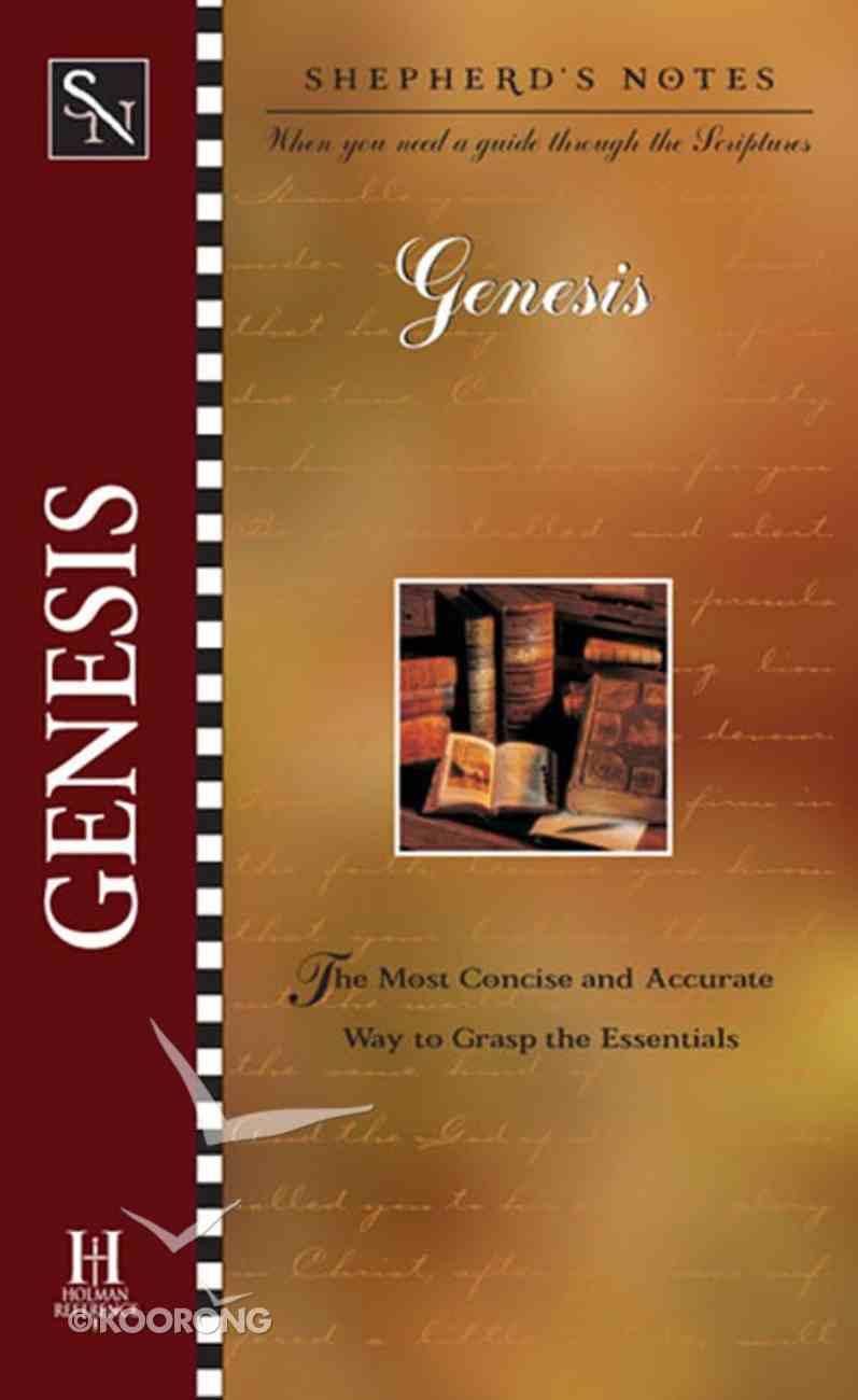 Genesis (Shepherd's Notes Series) eBook