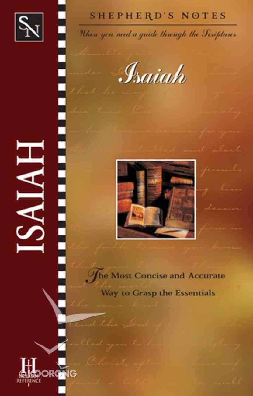 Isaiah (Shepherd's Notes Series) eBook