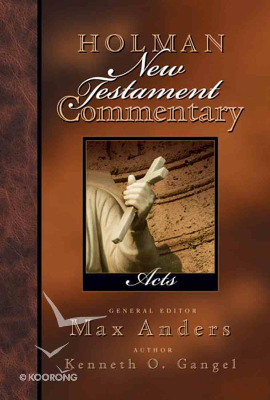 Acts (#05 in Holman New Testament Commentary Series) eBook