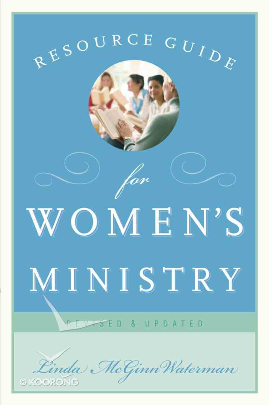 Resource Guide For Women's Ministry eBook