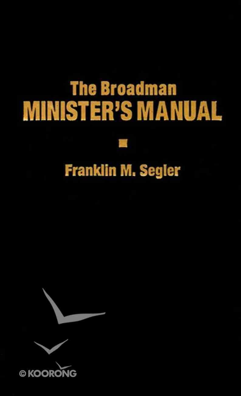 The Broadman Minister's Manual eBook