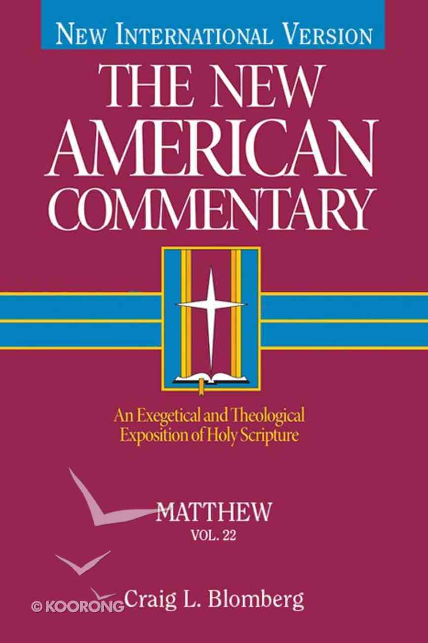 Matthew (#22 in New American Commentary Series) eBook