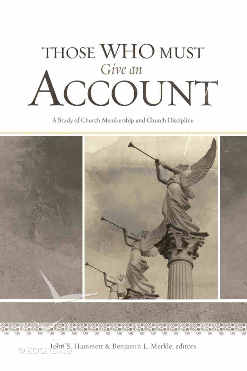 Those Who Must Give An Account eBook