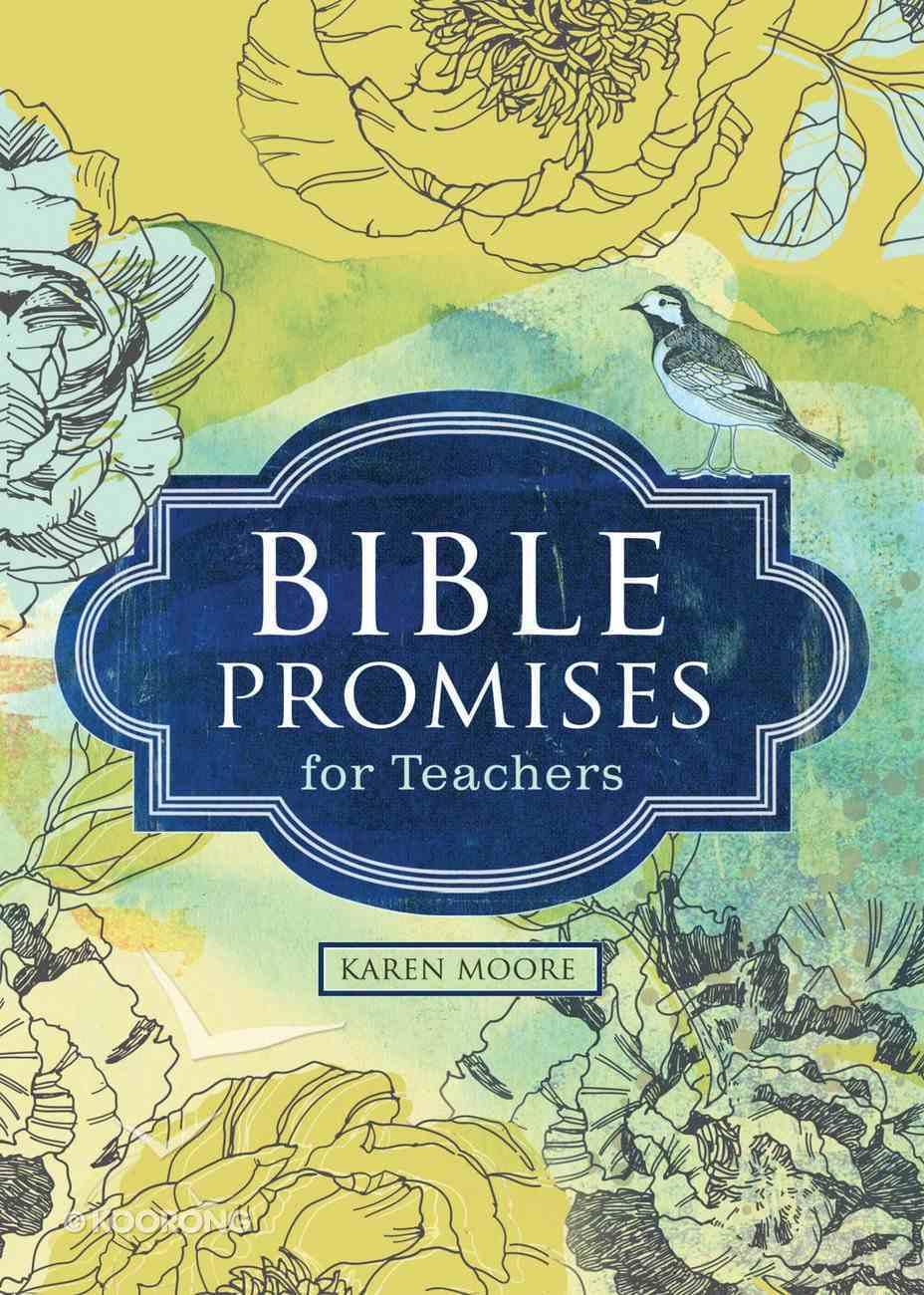 Bible Promises For Teachers (Hcsb) eBook