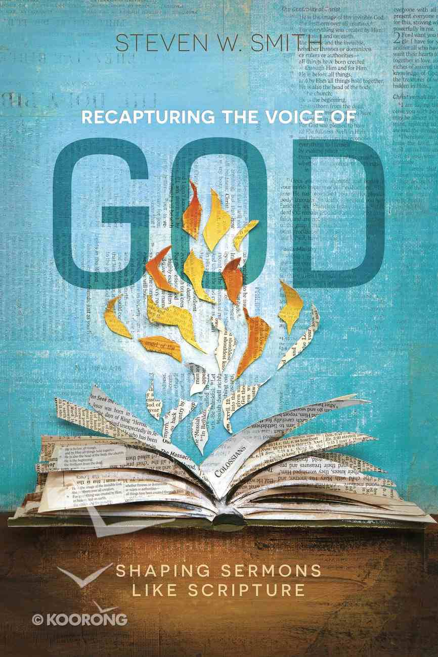 Recapturing the Voice of God eBook
