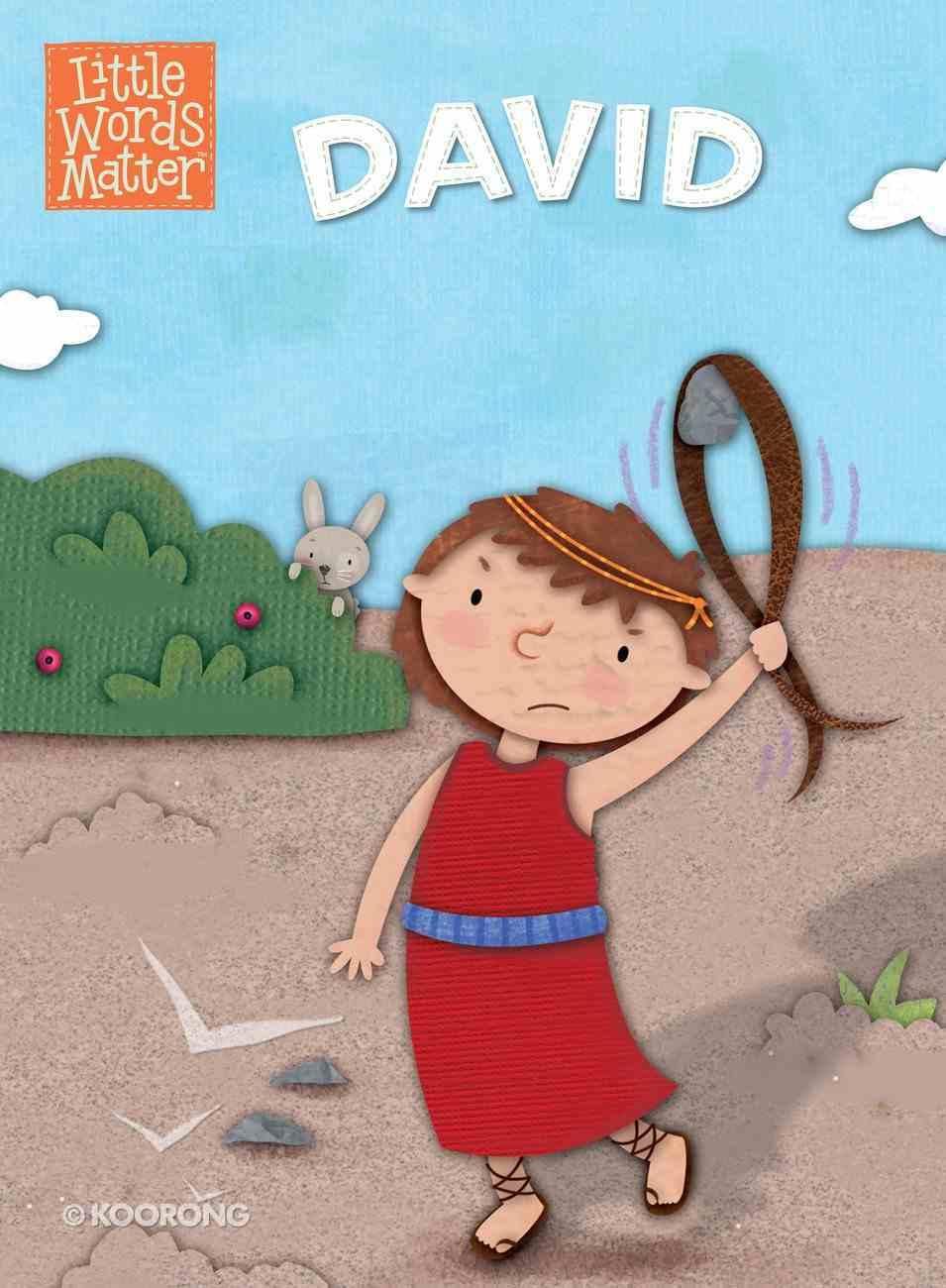 David (Little Words Matter Series) eBook