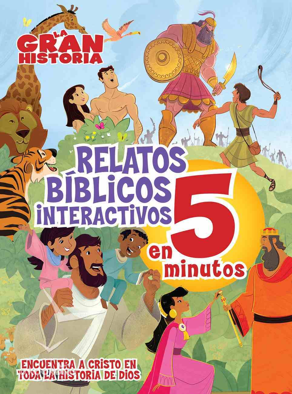 La Gran Historia, Relatos Biblicos En 5 Minutos eBook