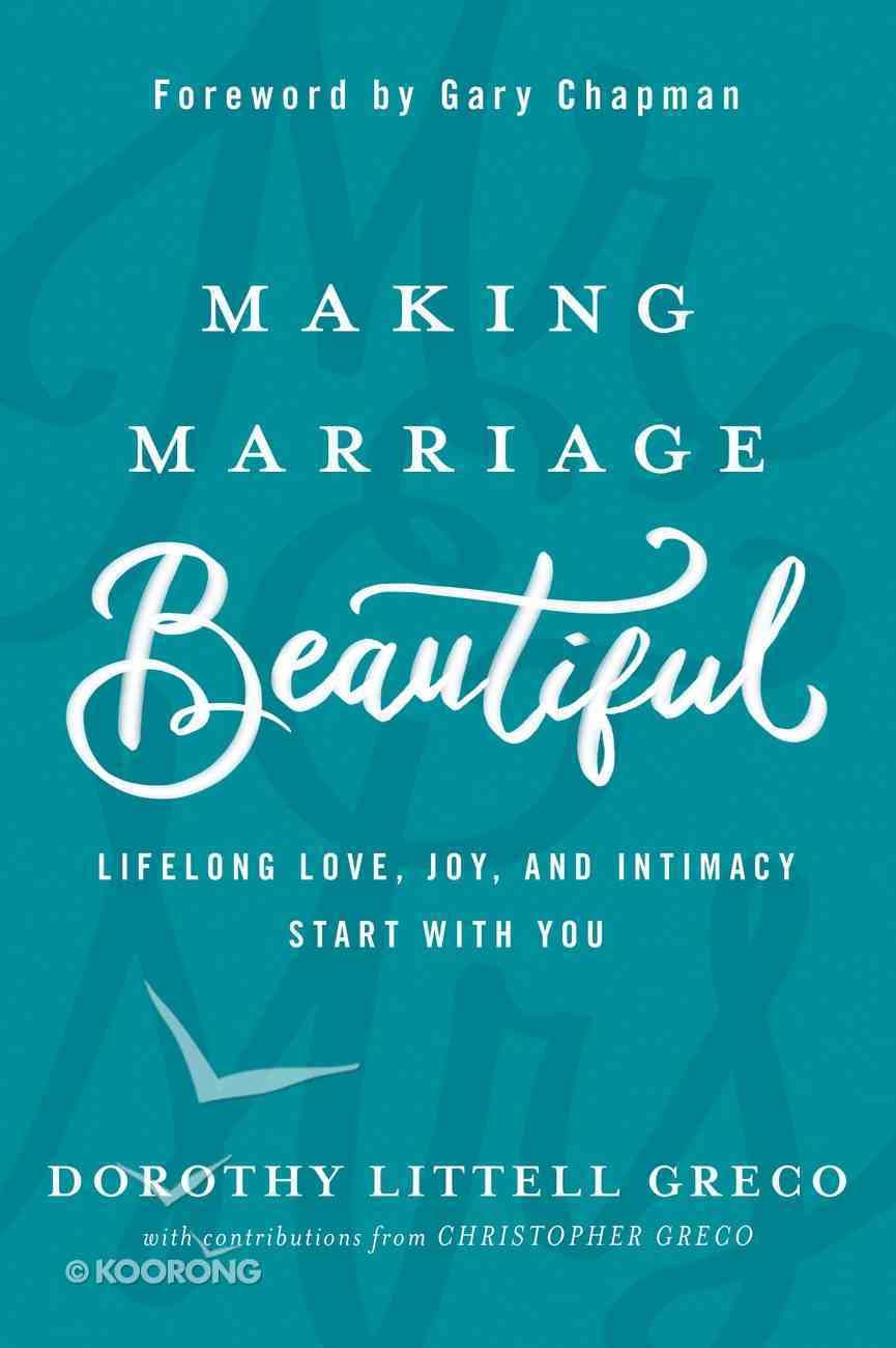 Making Marriage Beautiful eBook