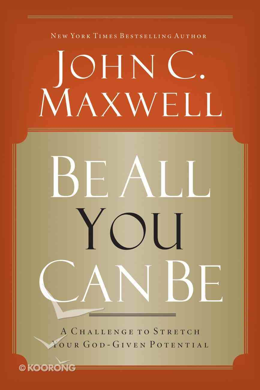 Be All You Can Be eBook
