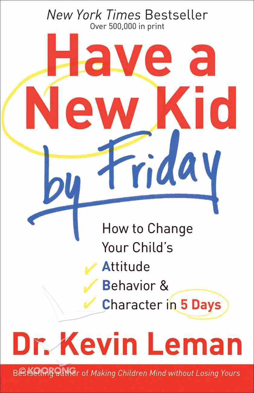 Have a New Kid By Friday eBook