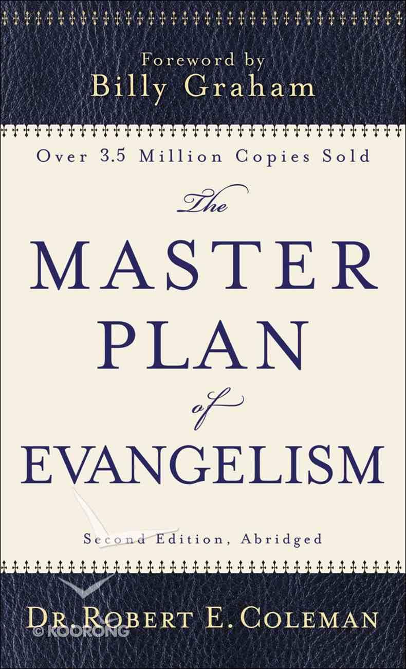 The Master Plan of Evangelism eBook