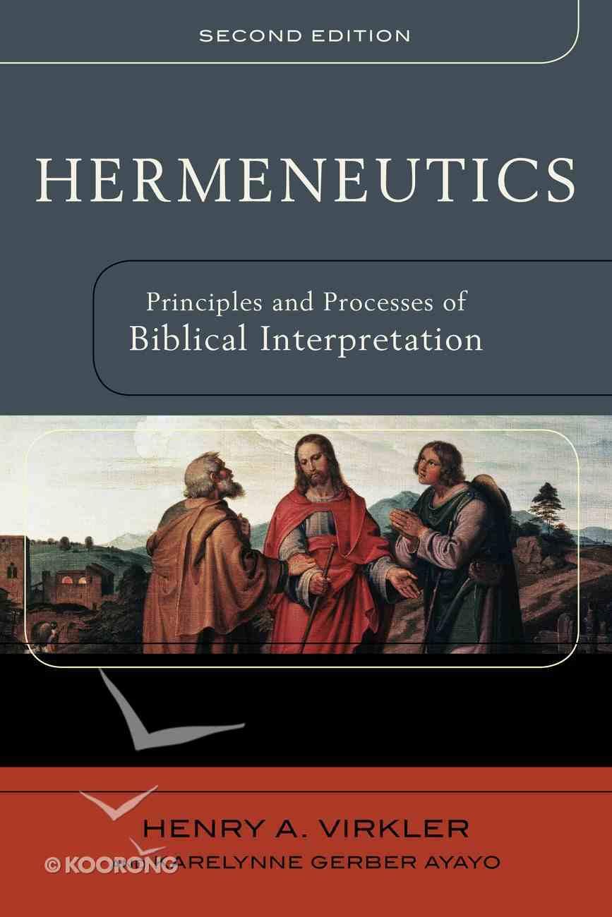 Hermeneutics eBook