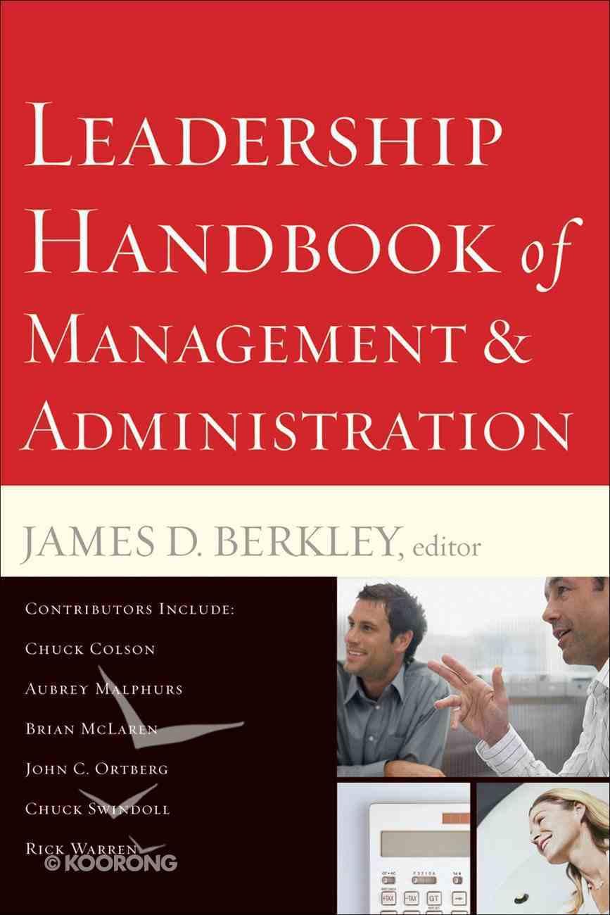 Leadership Handbook of Management and Administration eBook