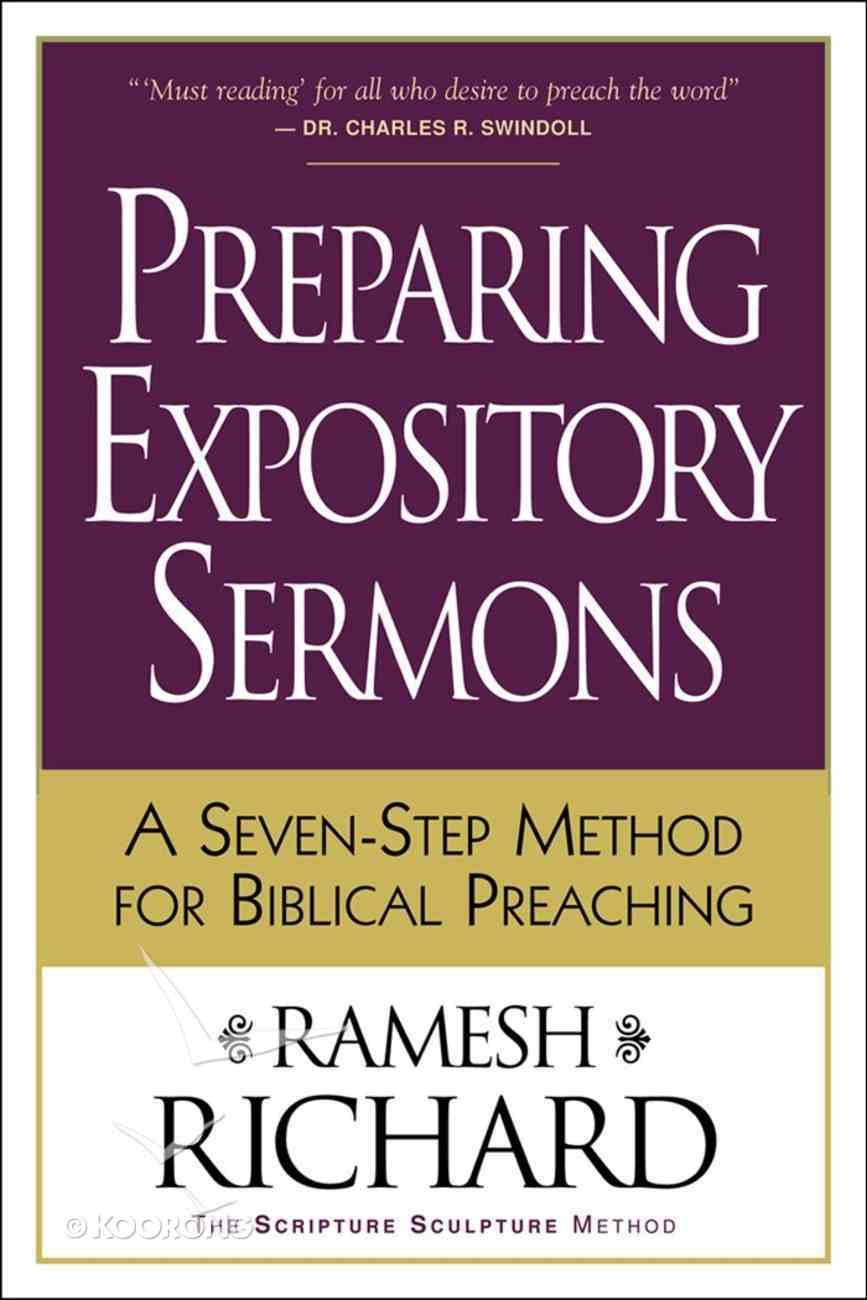Preparing Expository Sermons eBook
