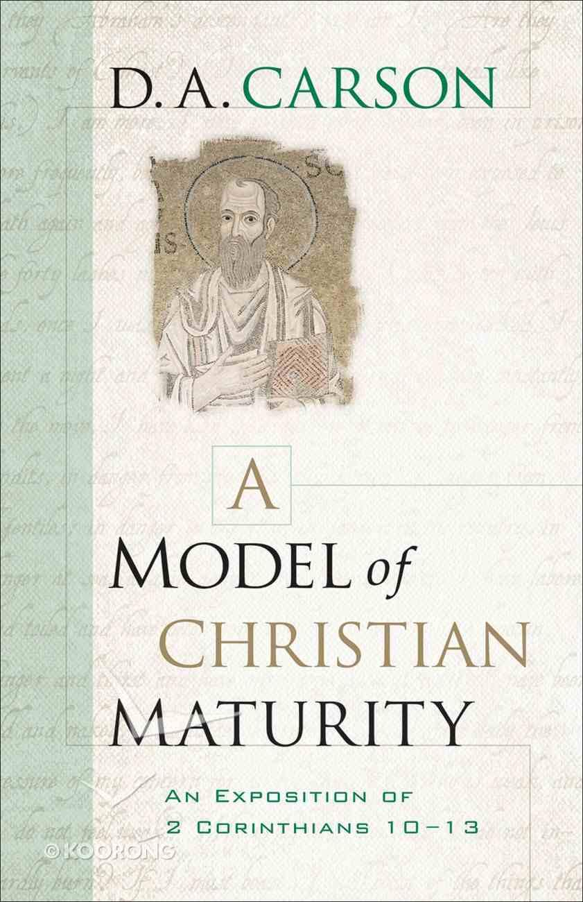 A Model of Christian Maturity eBook