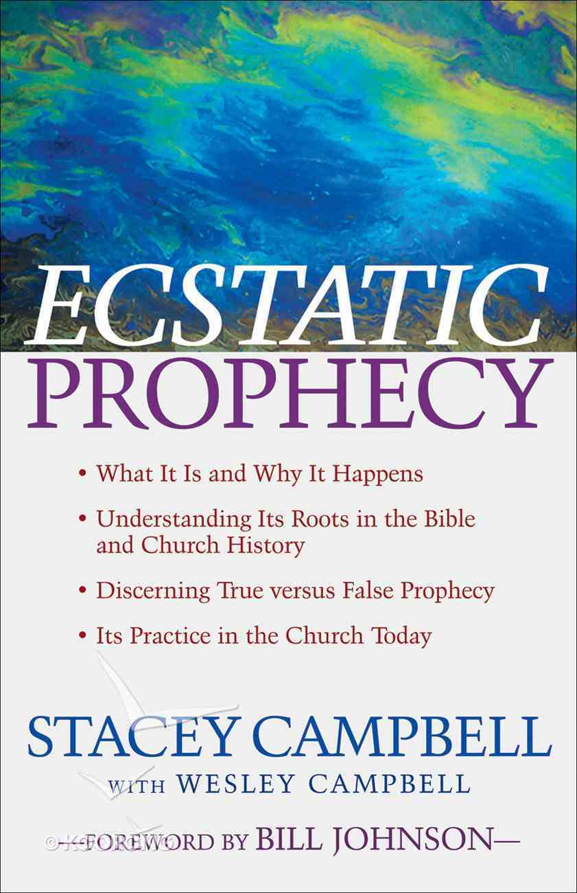 Ecstatic Prophecy eBook