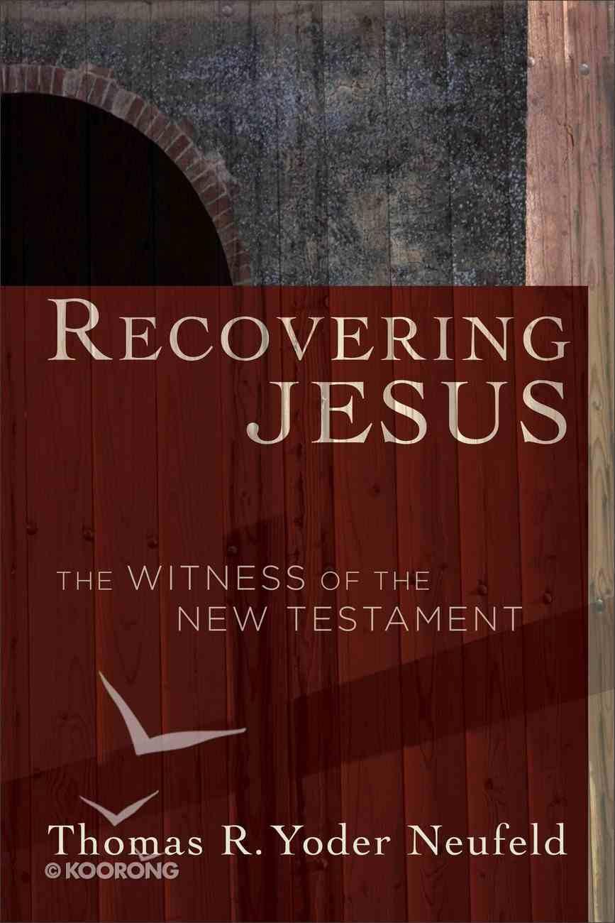 Recovering Jesus eBook
