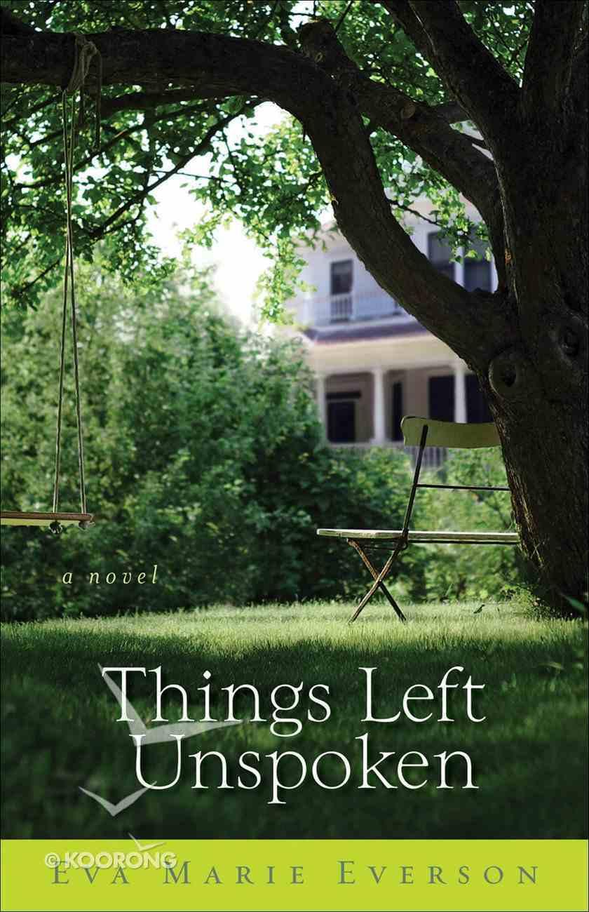 Things Left Unspoken eBook