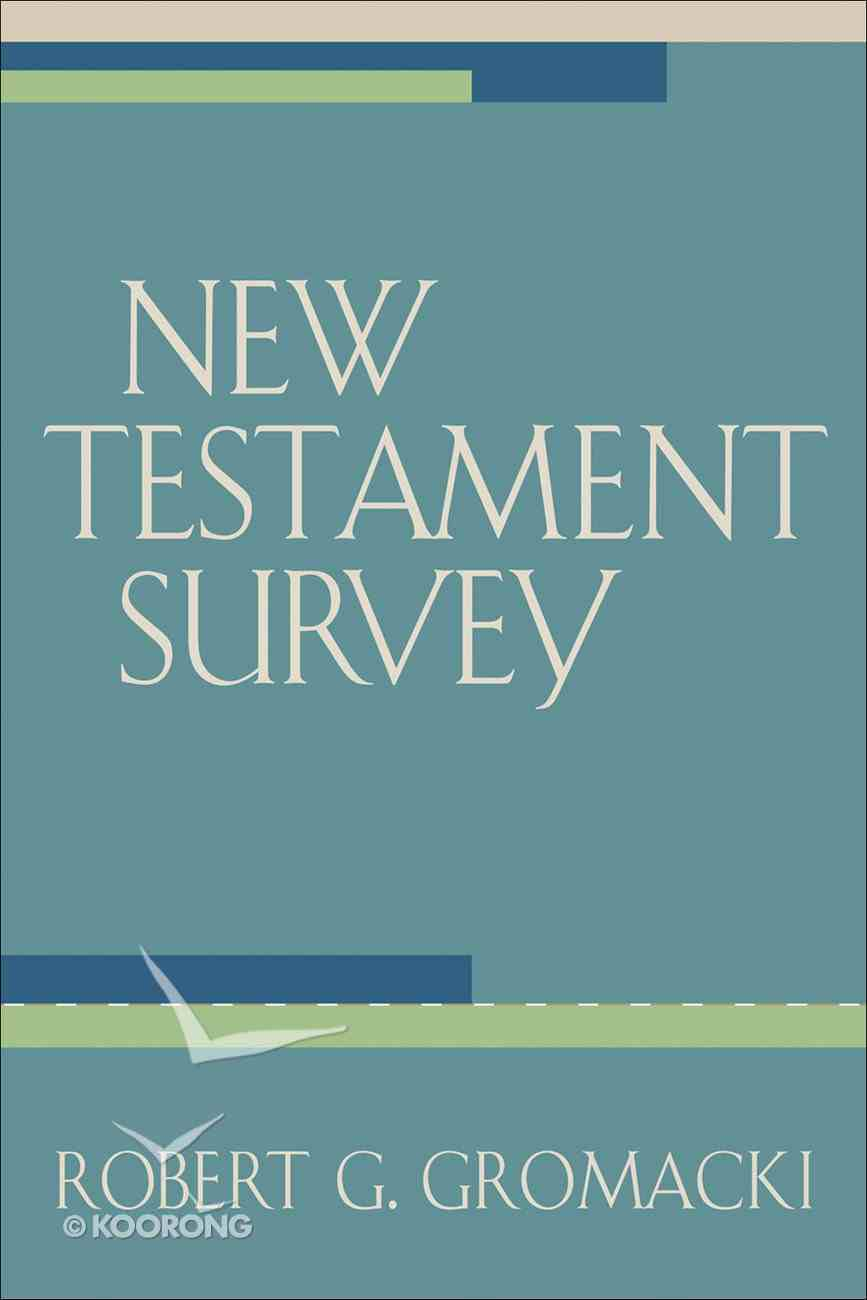 New Testament Survey eBook