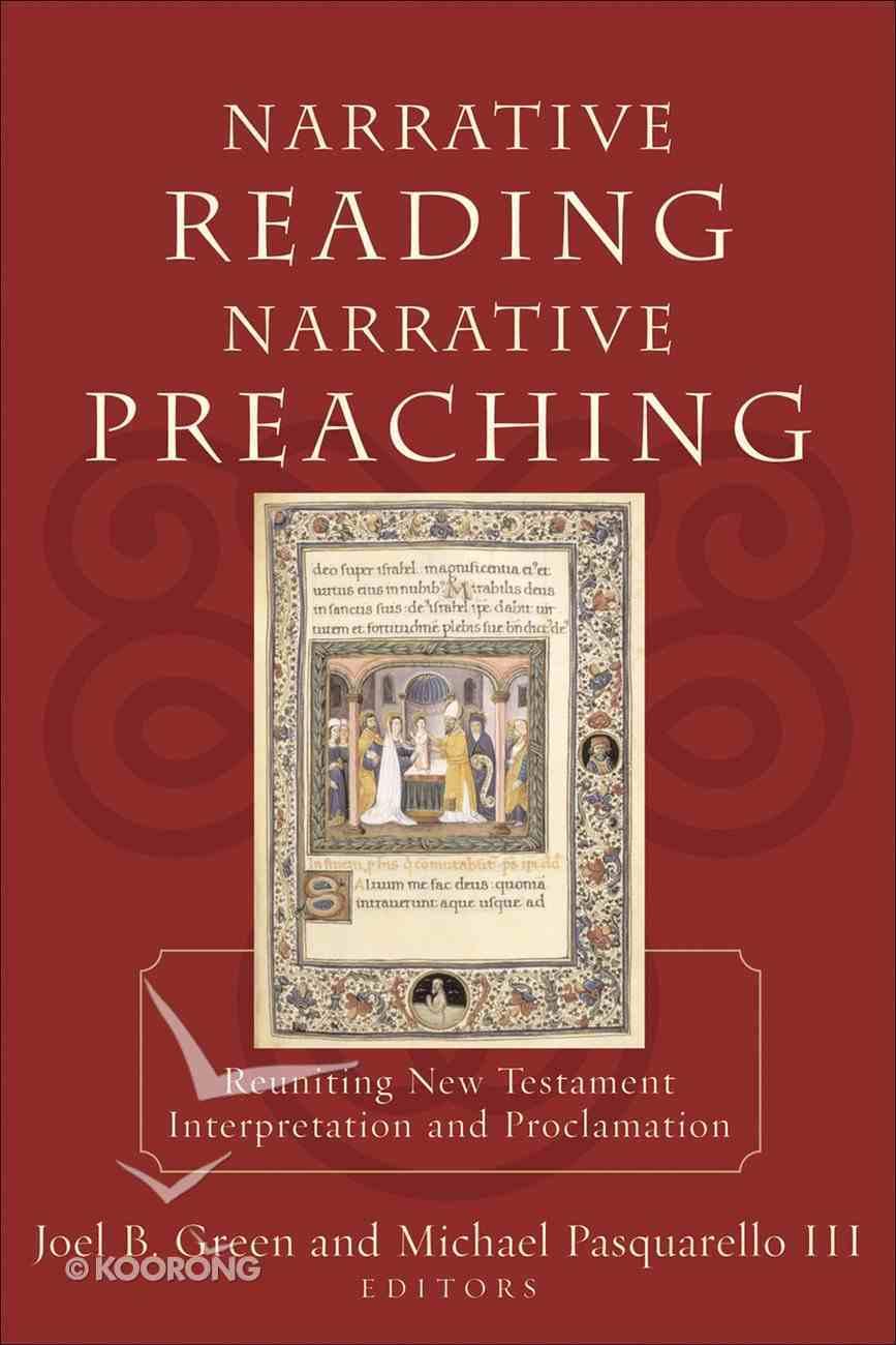 Narrative Reading Narrative Preaching eBook