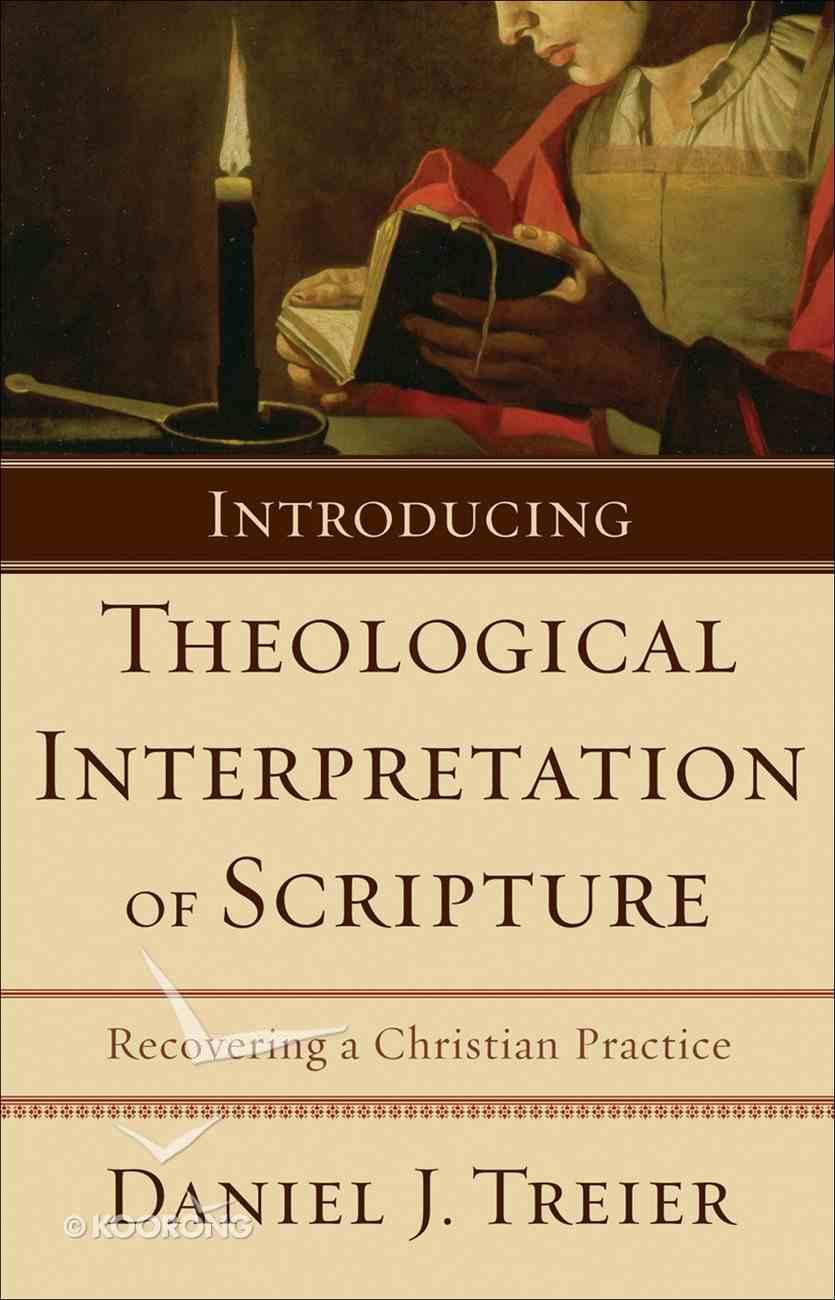 Introducing Theological Interpretation of Scripture eBook