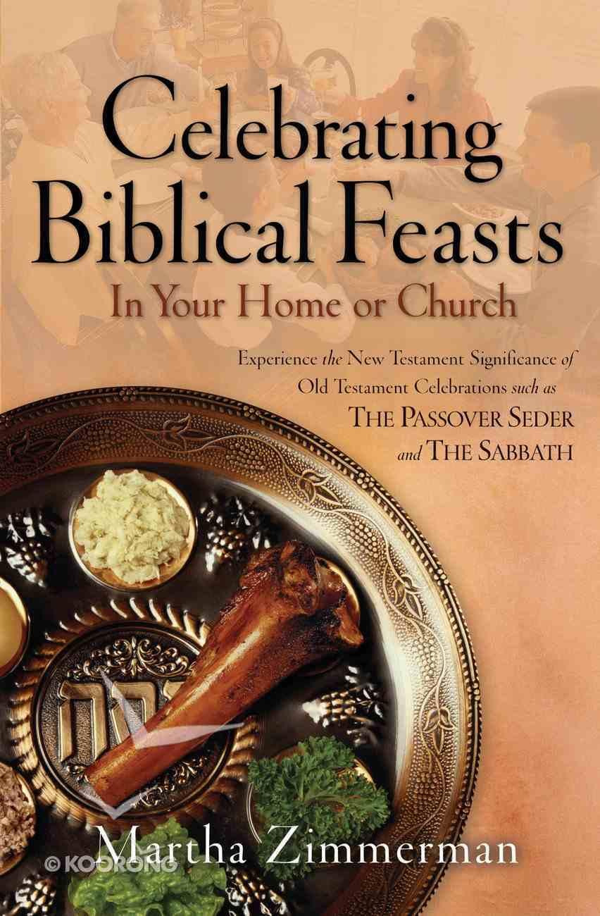 Celebrating Biblical Feasts eBook