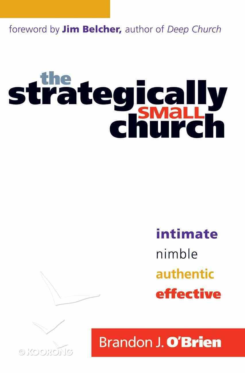 The Strategically Small Church eBook