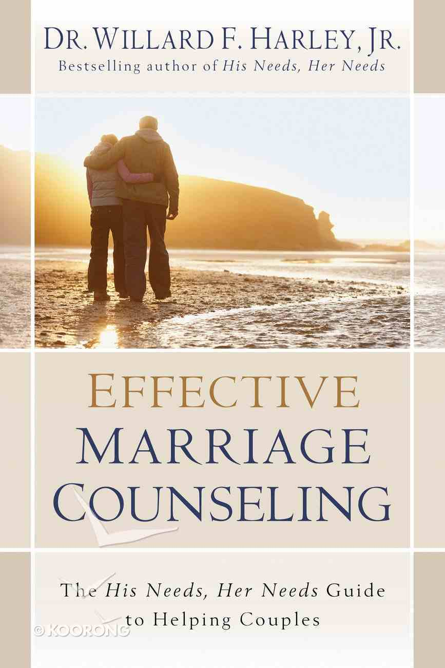 Effective Marriage Counseling eBook