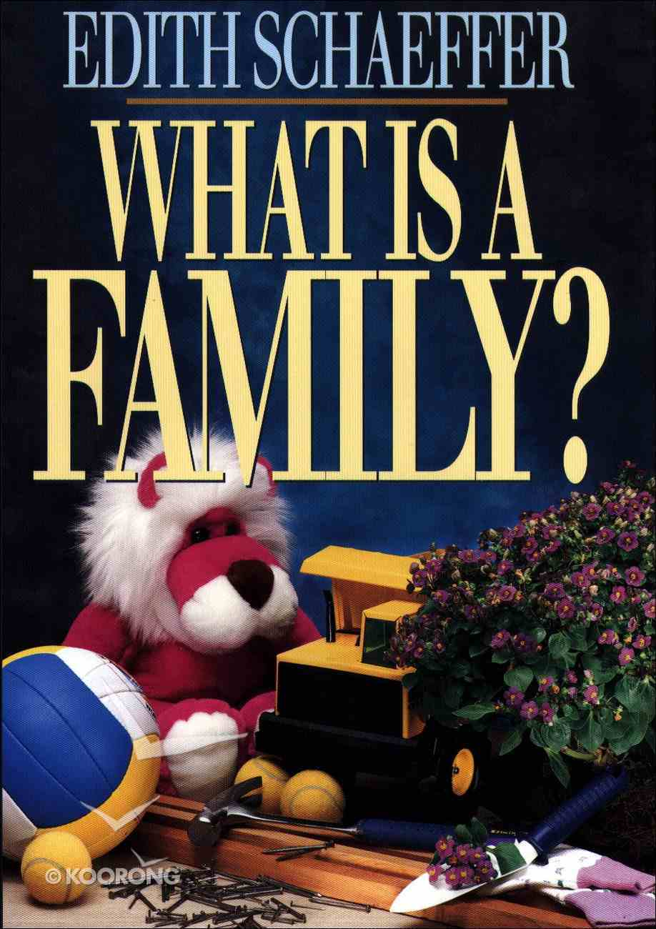 What is a Family? eBook