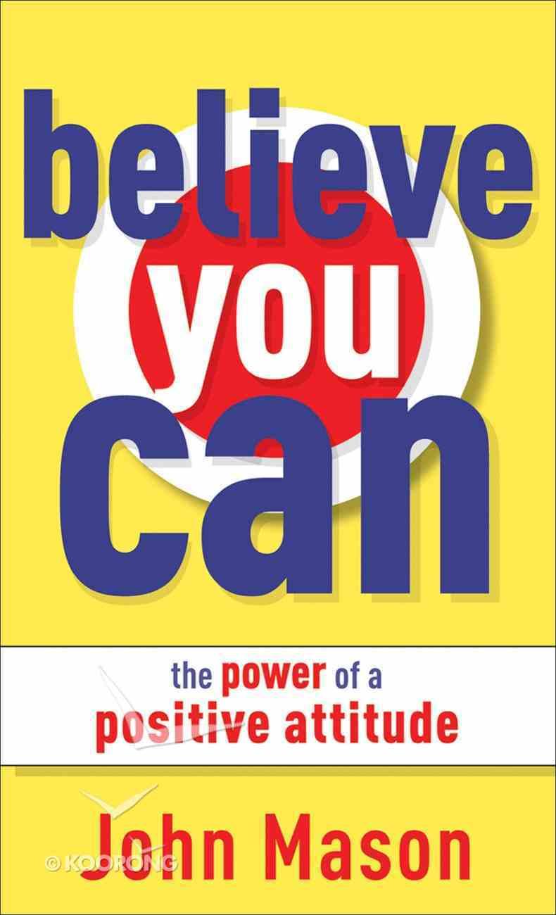 Believe You Can eBook