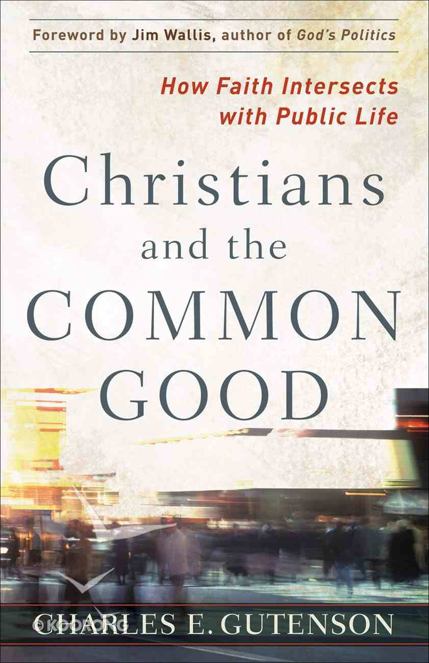 Christians and the Common Good eBook