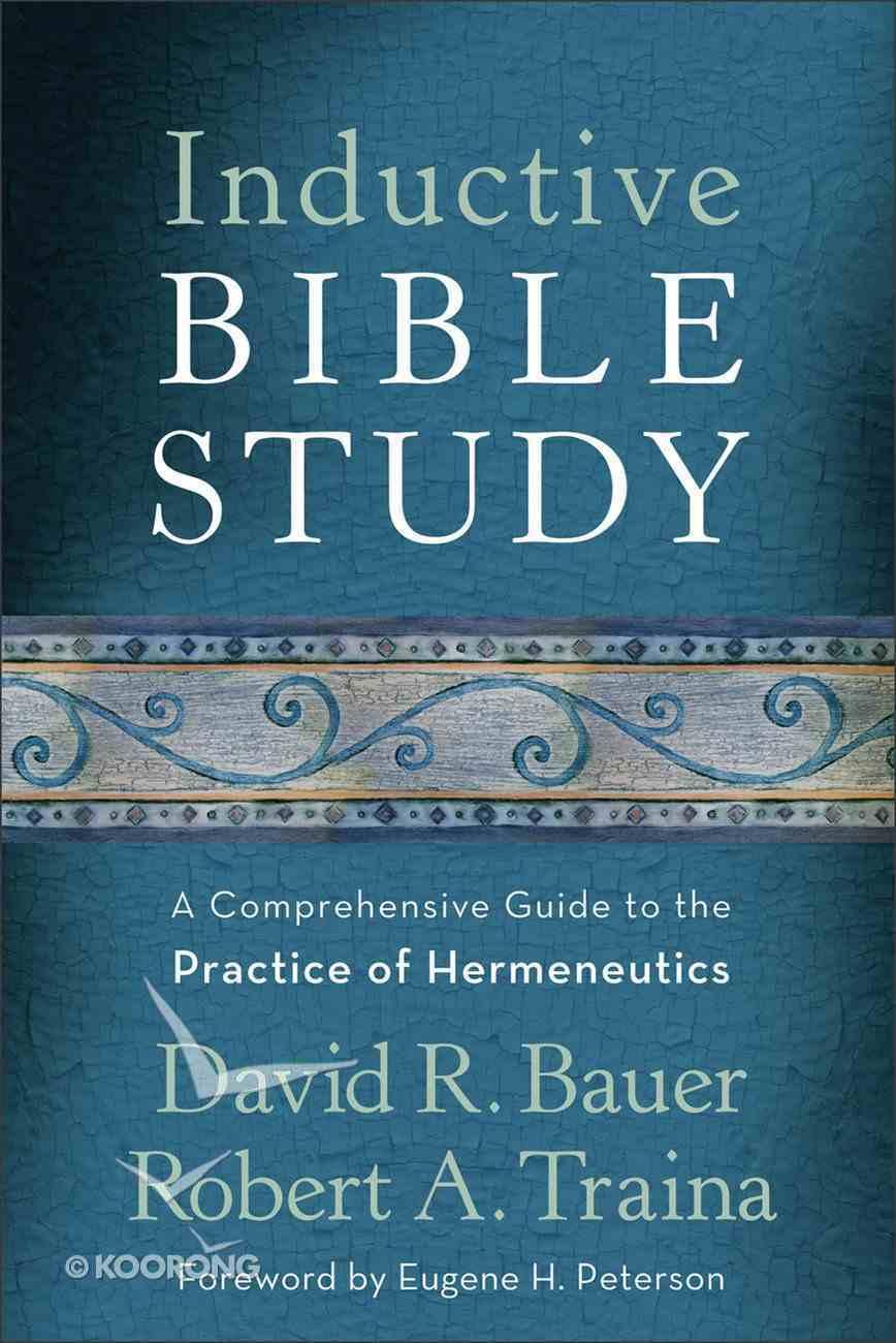 Inductive Bible Study eBook