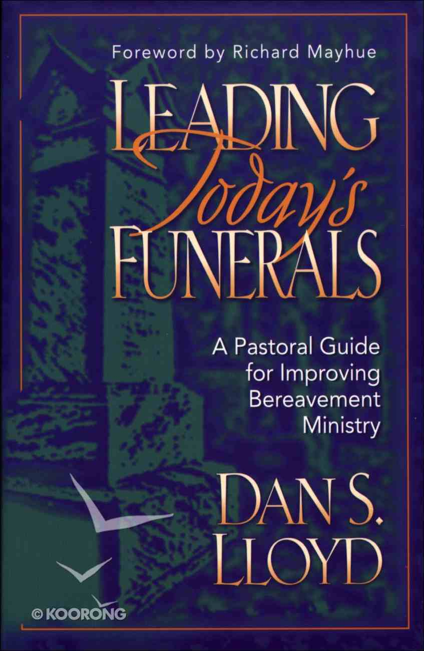 Leading Today's Funerals eBook