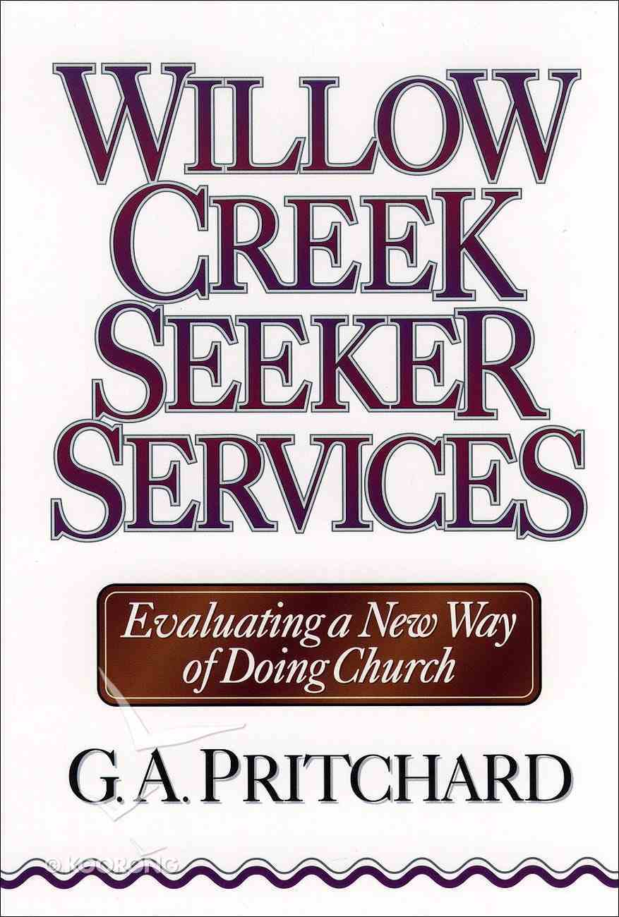 Willow Creek Seeker Services eBook