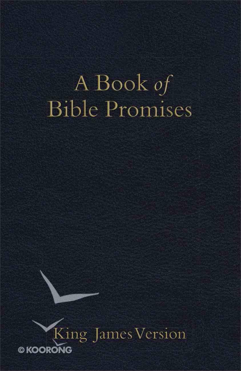 KJV Book of Bible Promises Midnight Blue eBook
