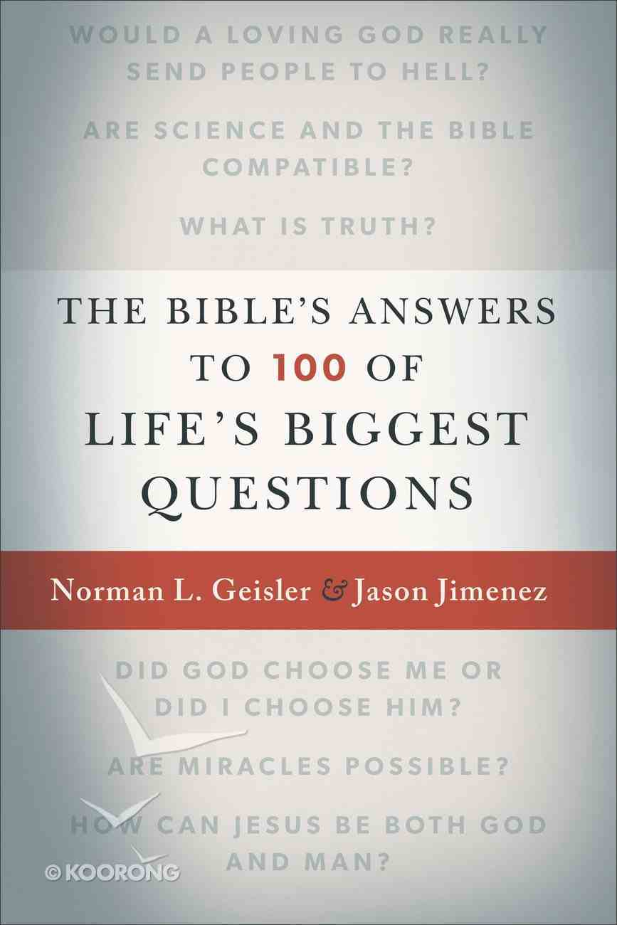 The Bible's Answers to 100 of Life's Biggest Questions eBook