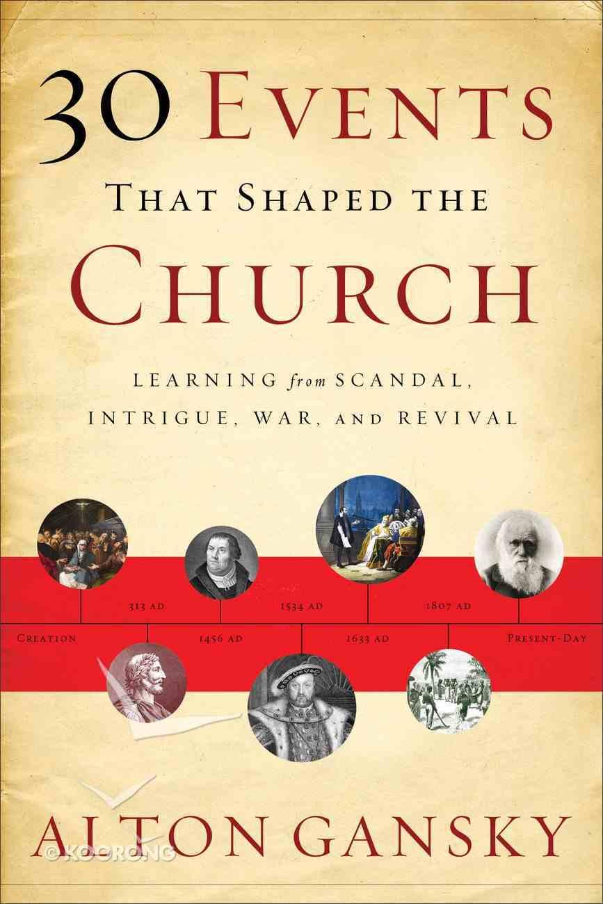 30 Events That Shaped the Church eBook