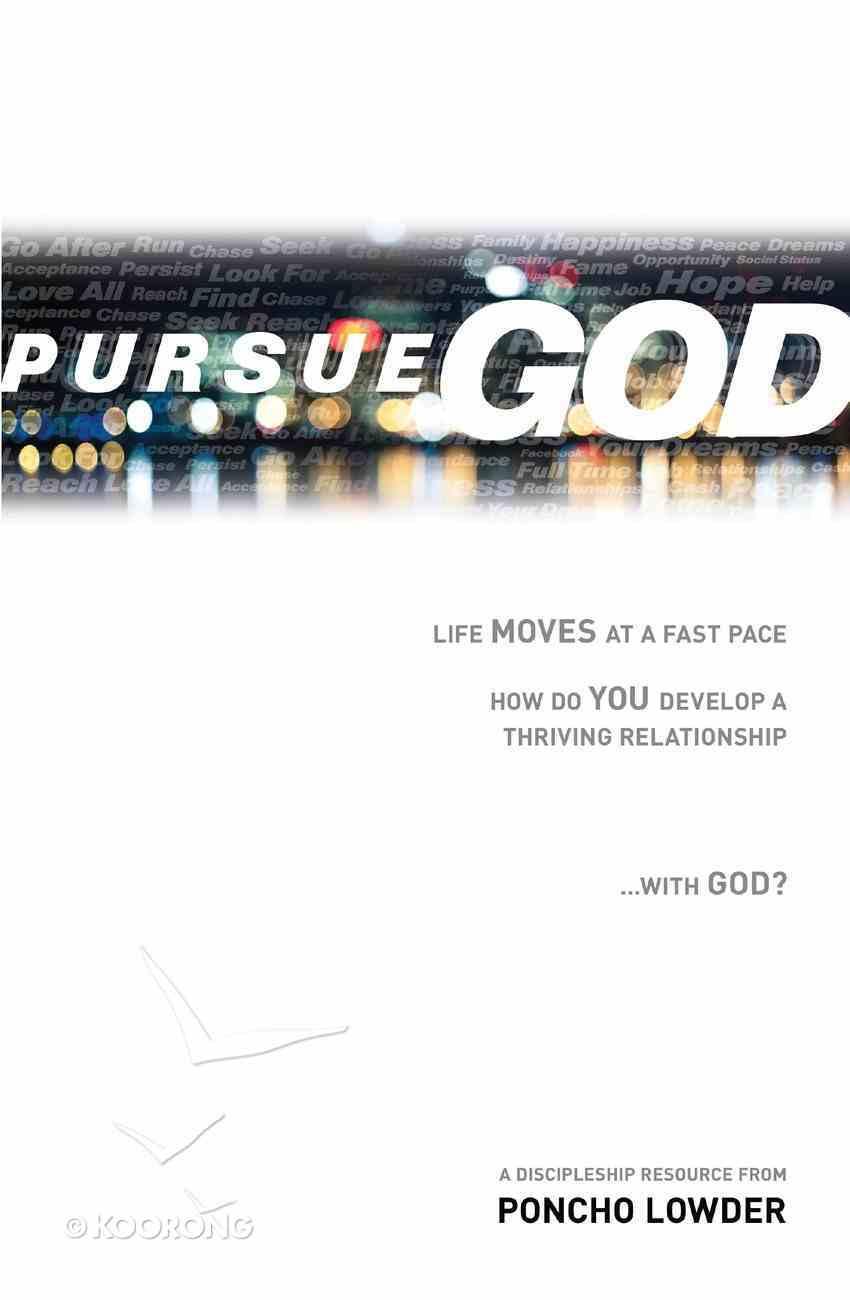 Pursue God eBook