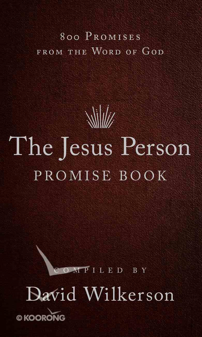 The Jesus Person Pocket Promise Book eBook