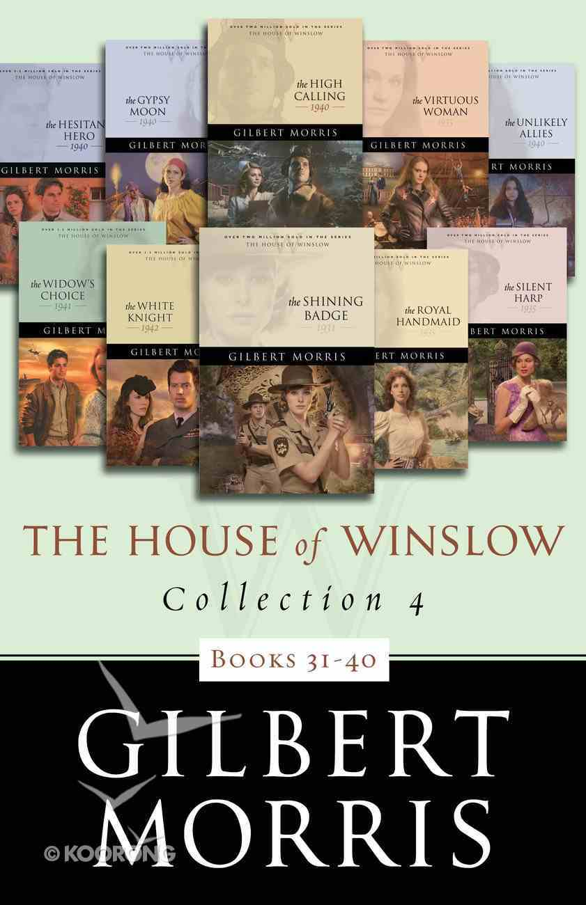 Books 31-40 (#04 in The House Of Winslow Collection Series) eBook