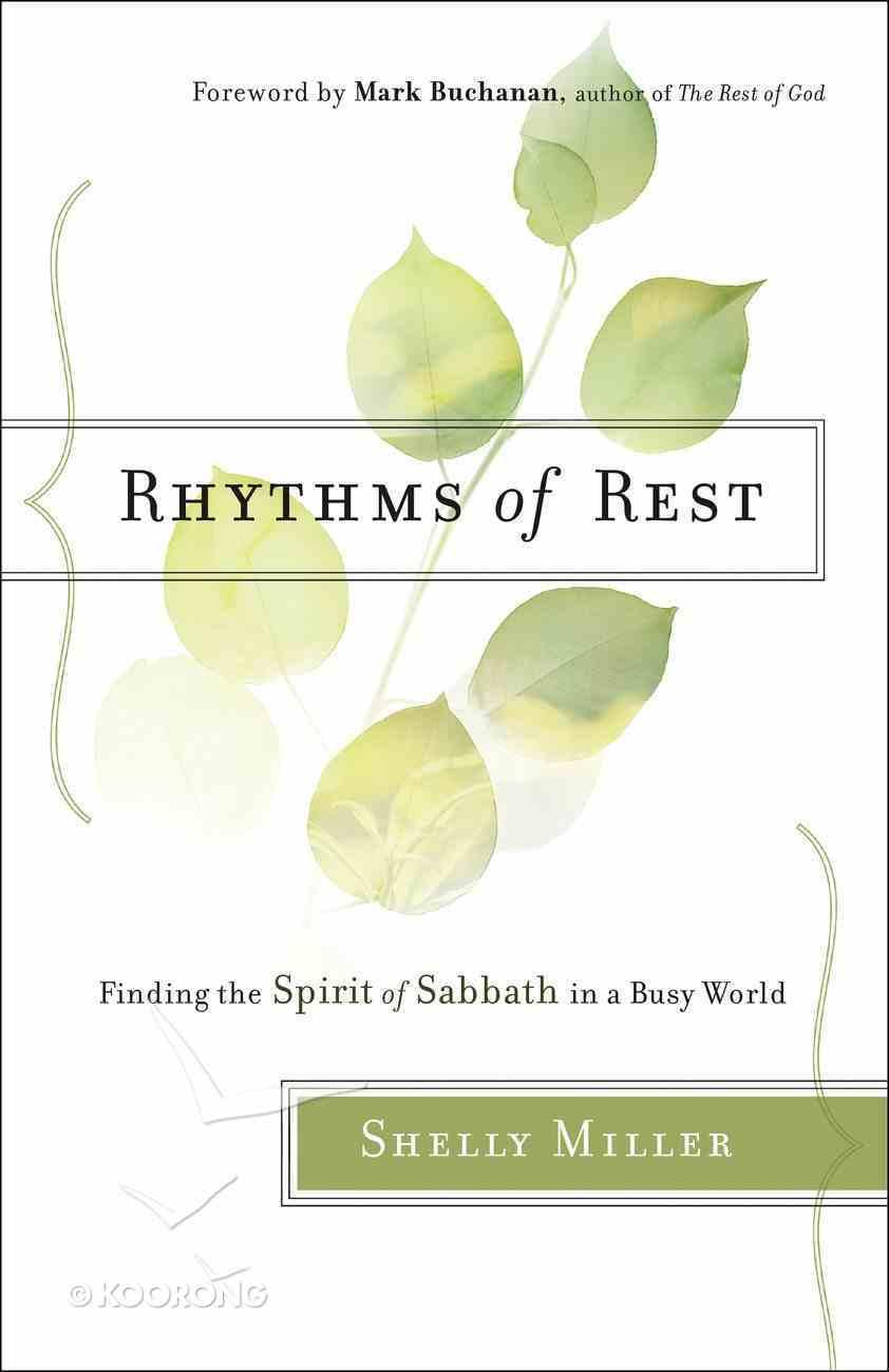 Rhythms of Rest eBook