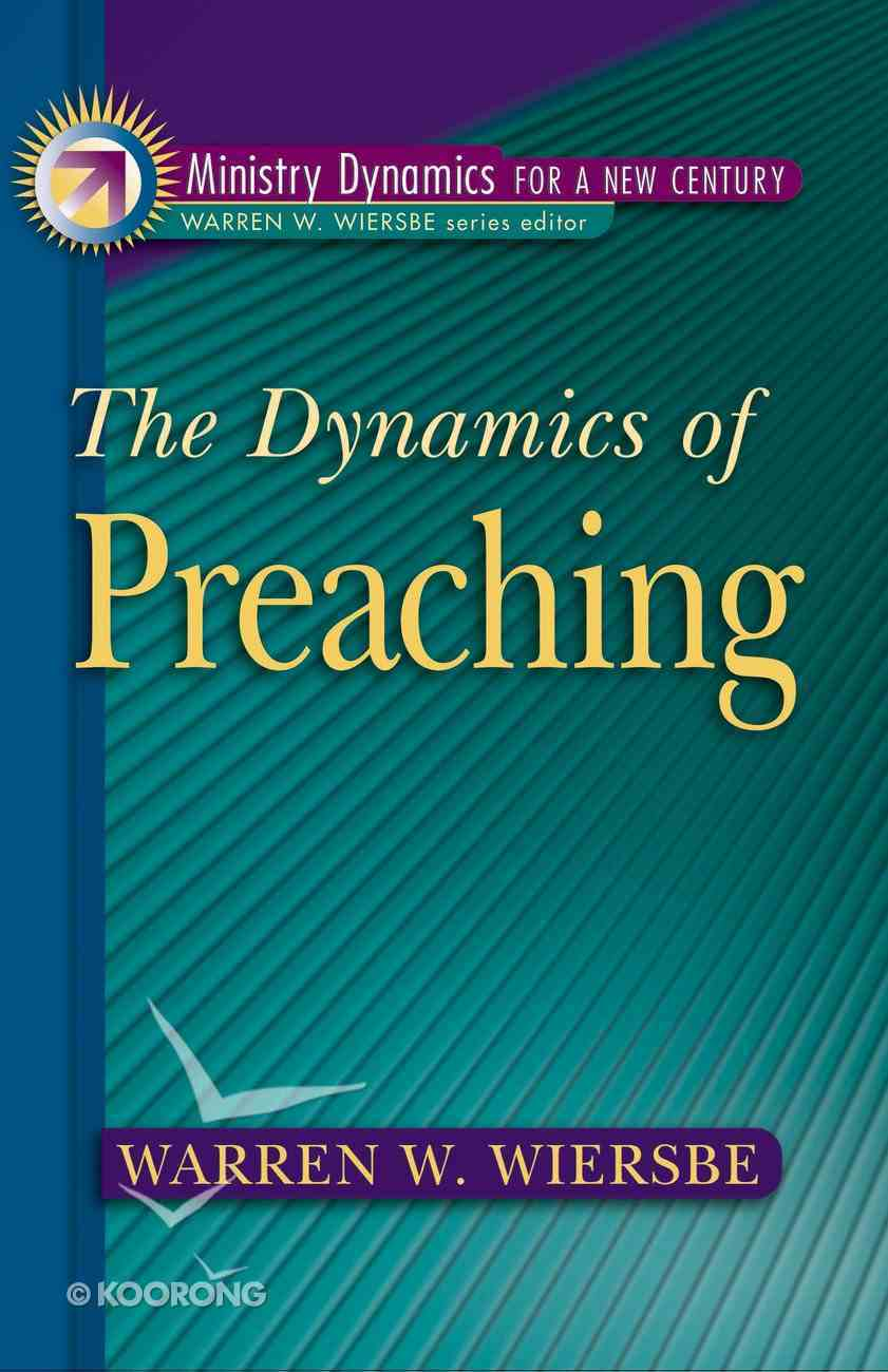 Dynamics of Preaching eBook