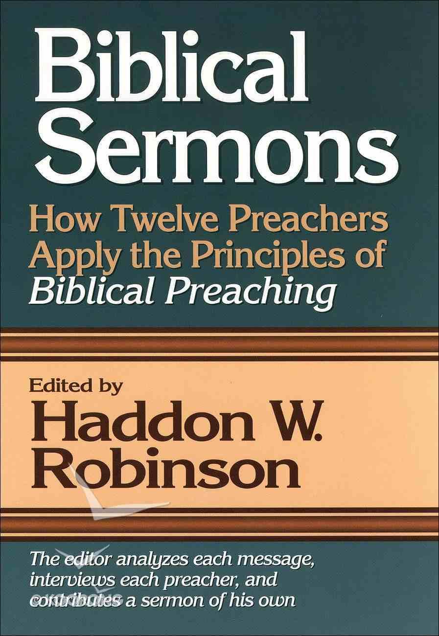 Biblical Sermons eBook