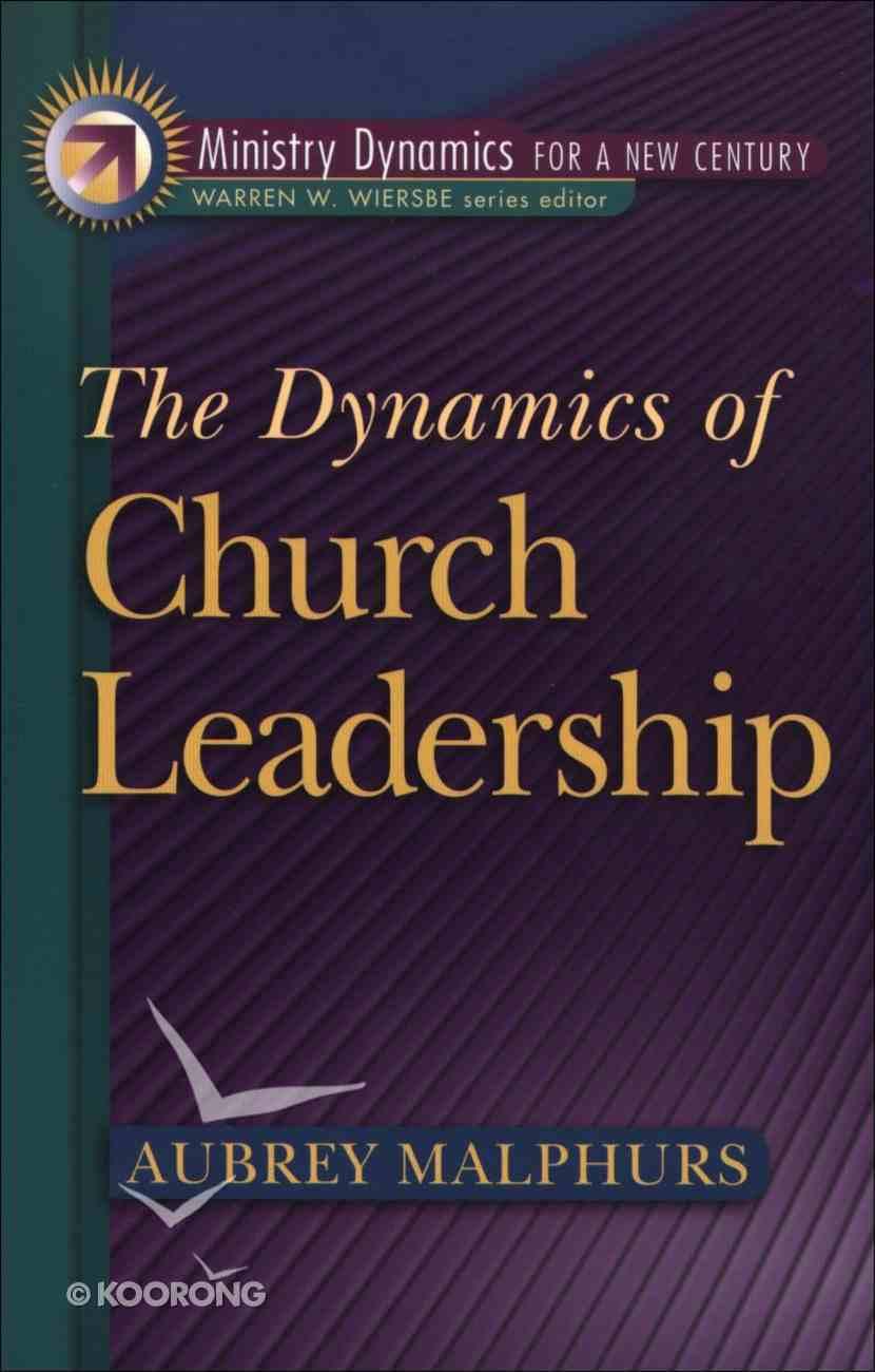 Dynamics of Church Leadership eBook