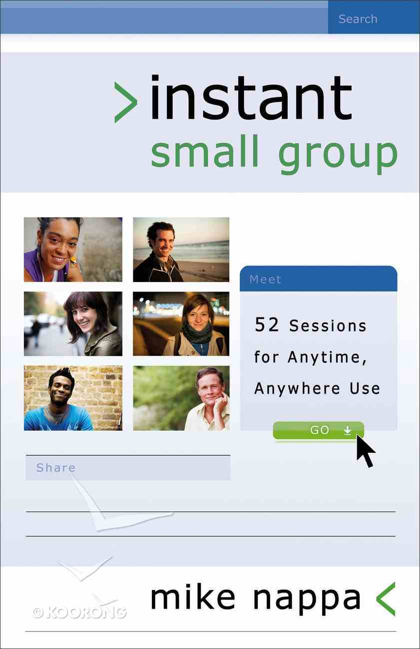 Instant Small Groups eBook