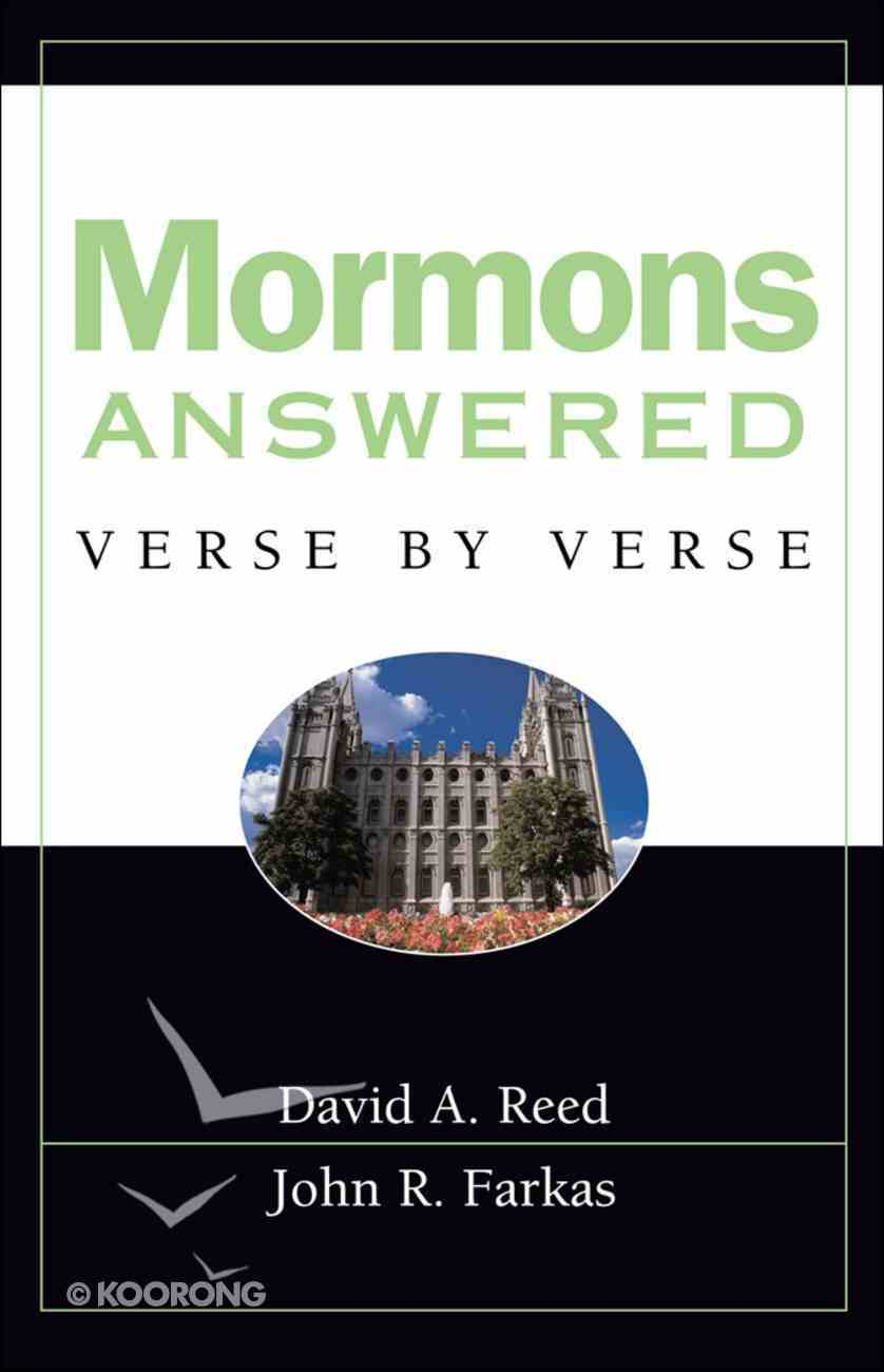 Mormons Answered Verse By Verse eBook