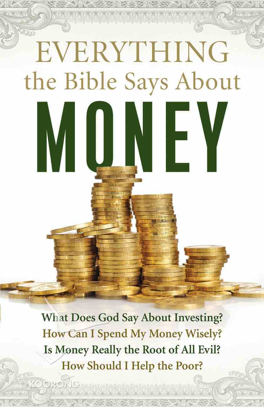 Everything the Bible Says About Money eBook